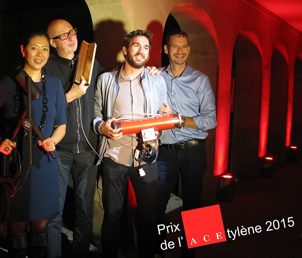 Prix de l'ACEtylène 2015, lauréats concepteurs lumière - Photo ACE