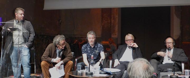 Andrea Siniscalco, François Chaslin, Malcolm Innes, Thomas Roemhild, Mark Major - Rencards de l'ACEtylene 2015 - Photo : Vincent Laganier