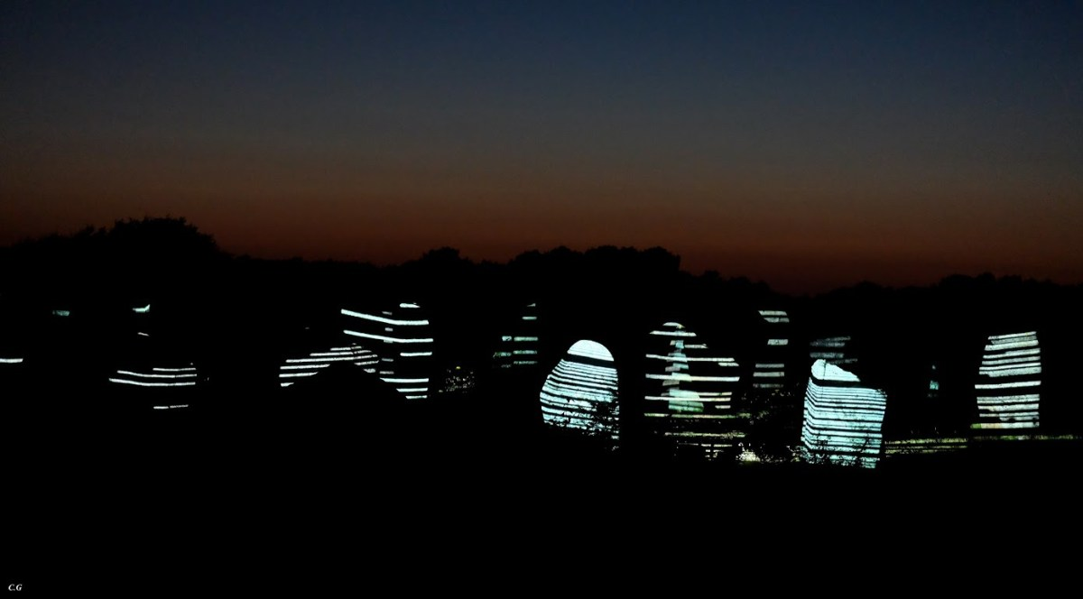 Skedanoz 2015, alignements du Ménec, Carnac - Photo Caroline Glehen