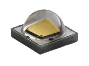 exemple de boitier ceramique : embase céramique, puce, phosphore couche mince et dome