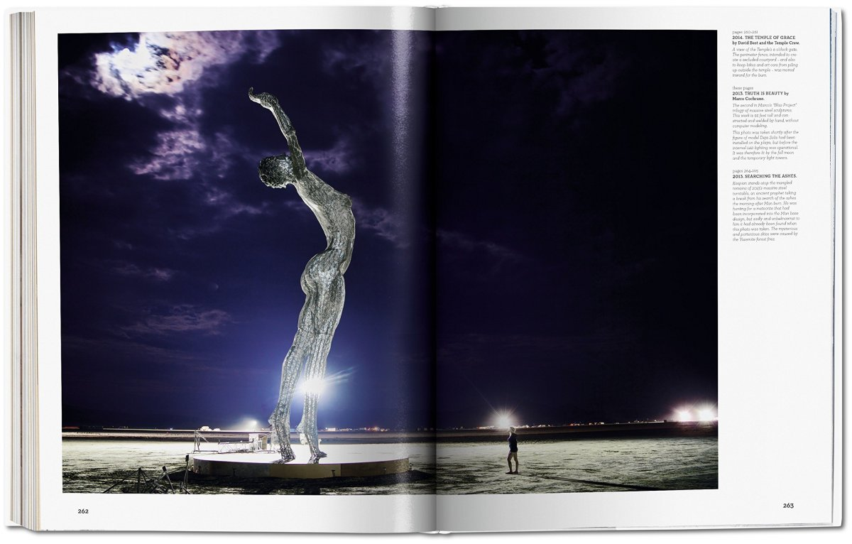 Art of Burning Man, photographe NK Guy - extrait © Taschen
