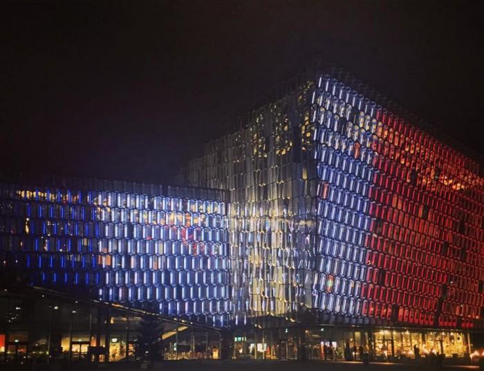 Harpa Centre de Congrès et de Spectacle de Reykjavik