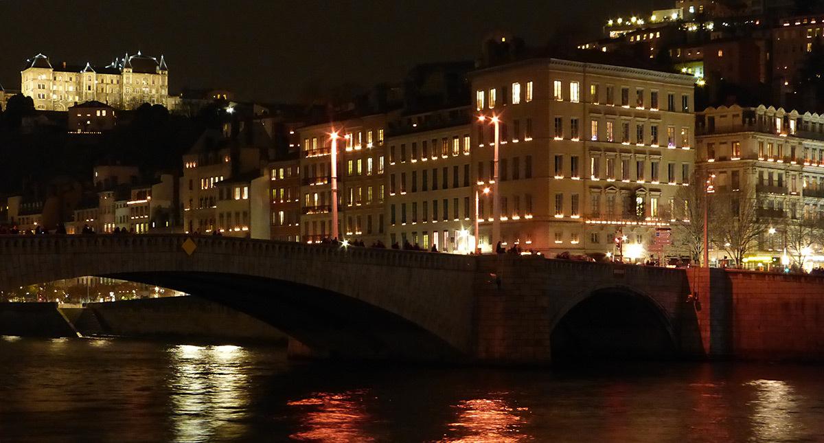 8 Décembre 2015 - Quai de Saône, Lyon - Photo : Vincent Laganier