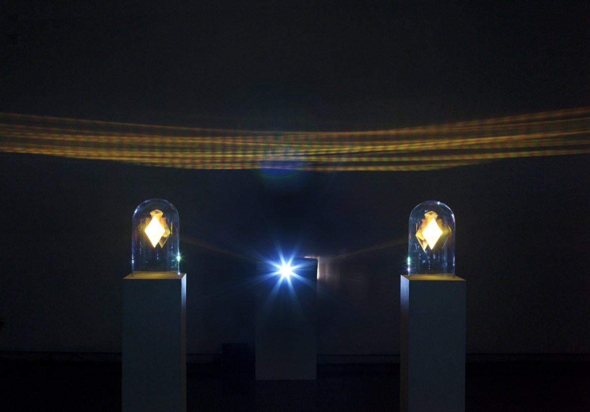 Barthélemy Antoine-Lœff, Ljós, 2014, installation audiovisuelle et générative © Barthélemy Antoine-Lœff