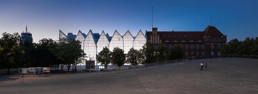 Philharmonique, Szczecin, Pologne - Architecte : Barozzi Veiga - Conception lumière : Anoche © darc awards 2015