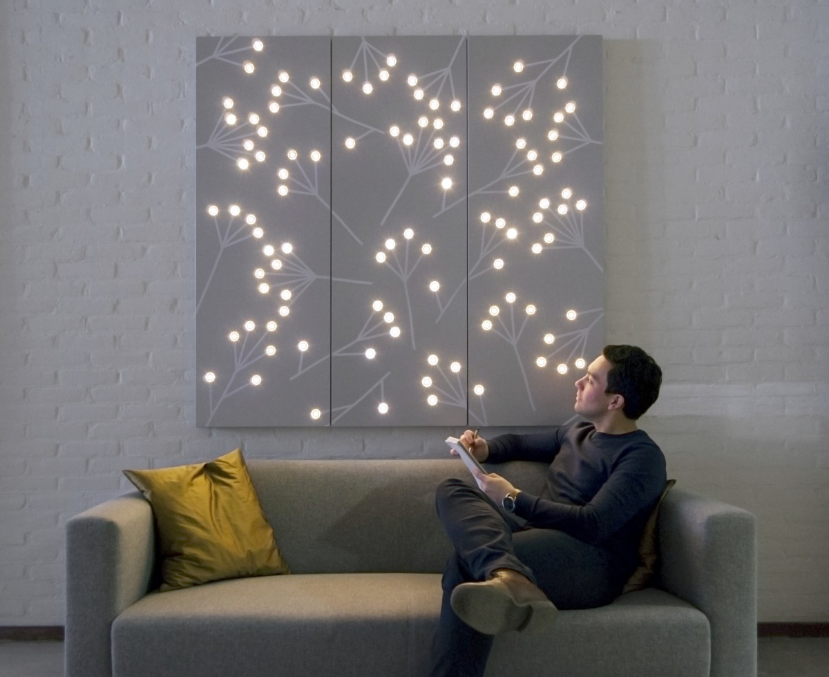 Luminous Patterns de Philips - Motif : éclat rond et branches ©Philips