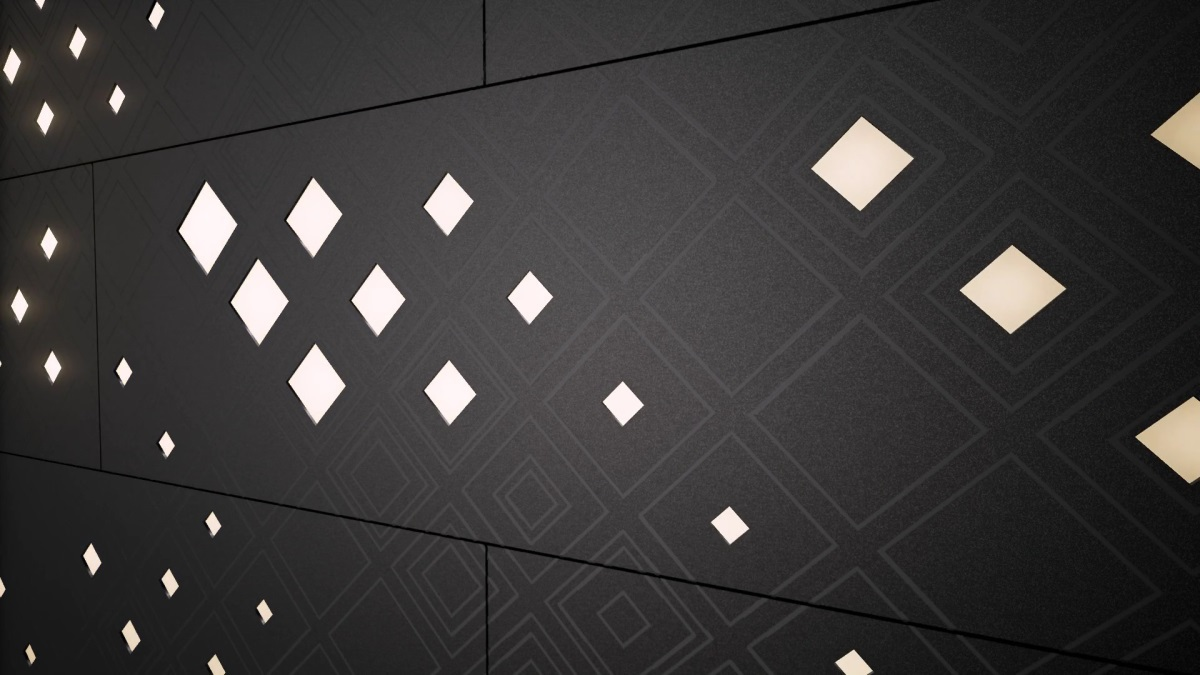 Luminous Patterns de Philips - Motif : diamant ©Philips