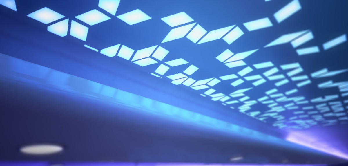 Airbus - Airspace by Airbus dans l'A330neo - Motif lumineux © Airbus
