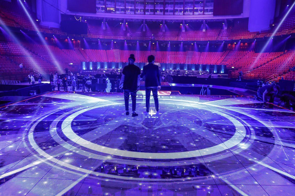 Eurovision 2016 - France - Amir première répétition sur la scène à Stockholm © Andres Putting