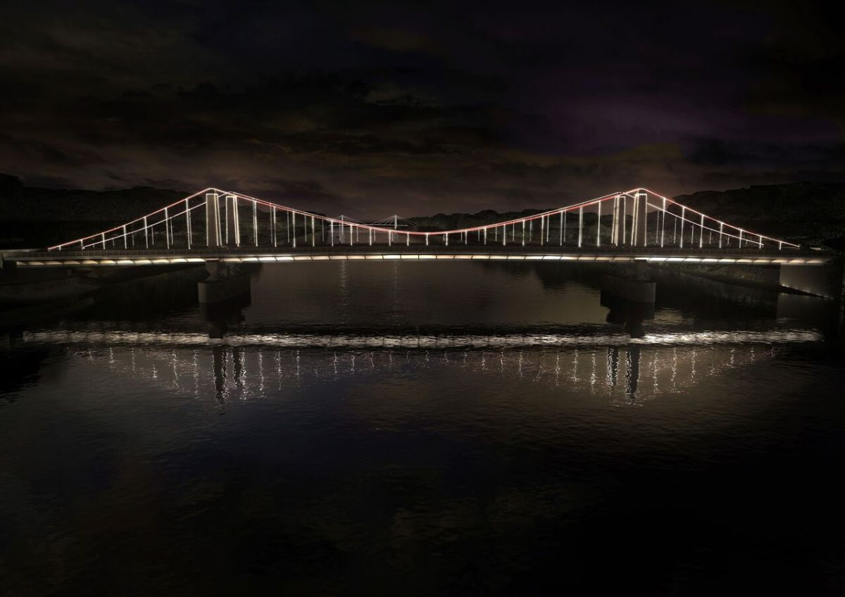 Chelsea Bridge, Londres, UK © MRC and Leo Villareal and Lifschutz Davidson Sandilands