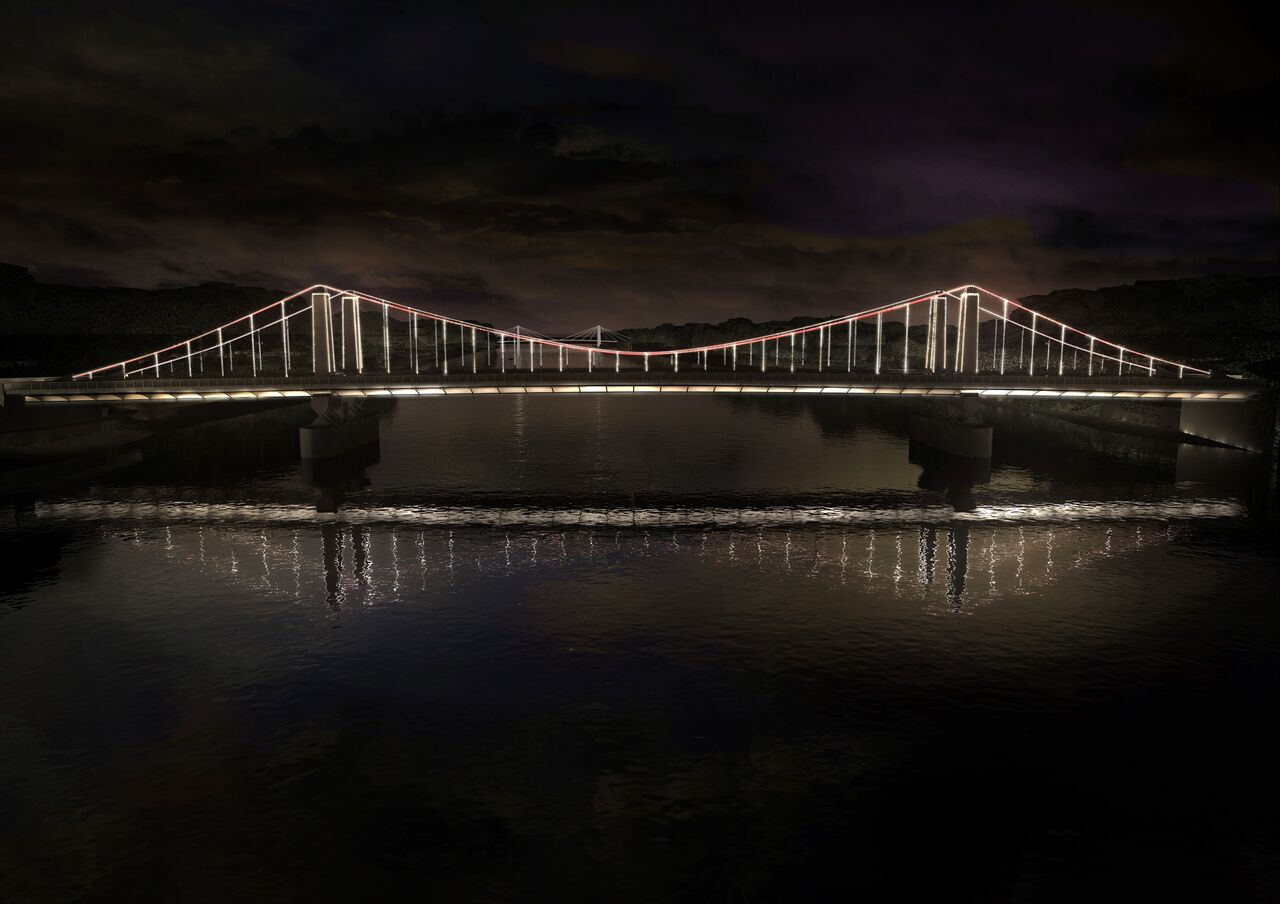 Chelsea Bridge, Londres, UK © MRC and Leo Villareal and Lifschutz Davidson Sandilands