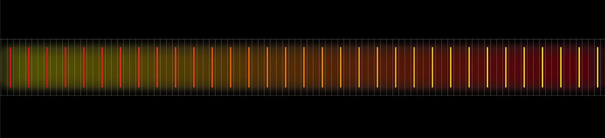 Tunnel Renan, parc des expositions de la porte de Versailles, Paris, France - Conception lumière et illustration : Seulsoleil et Rémi Nicolas, RN2L