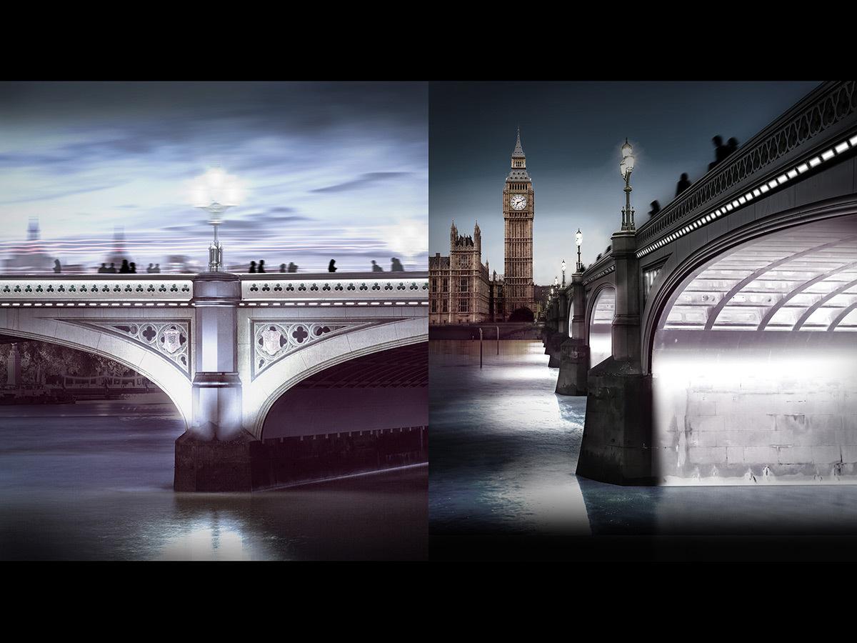 Westminster Bridge, London, UK © MRC and AL_A