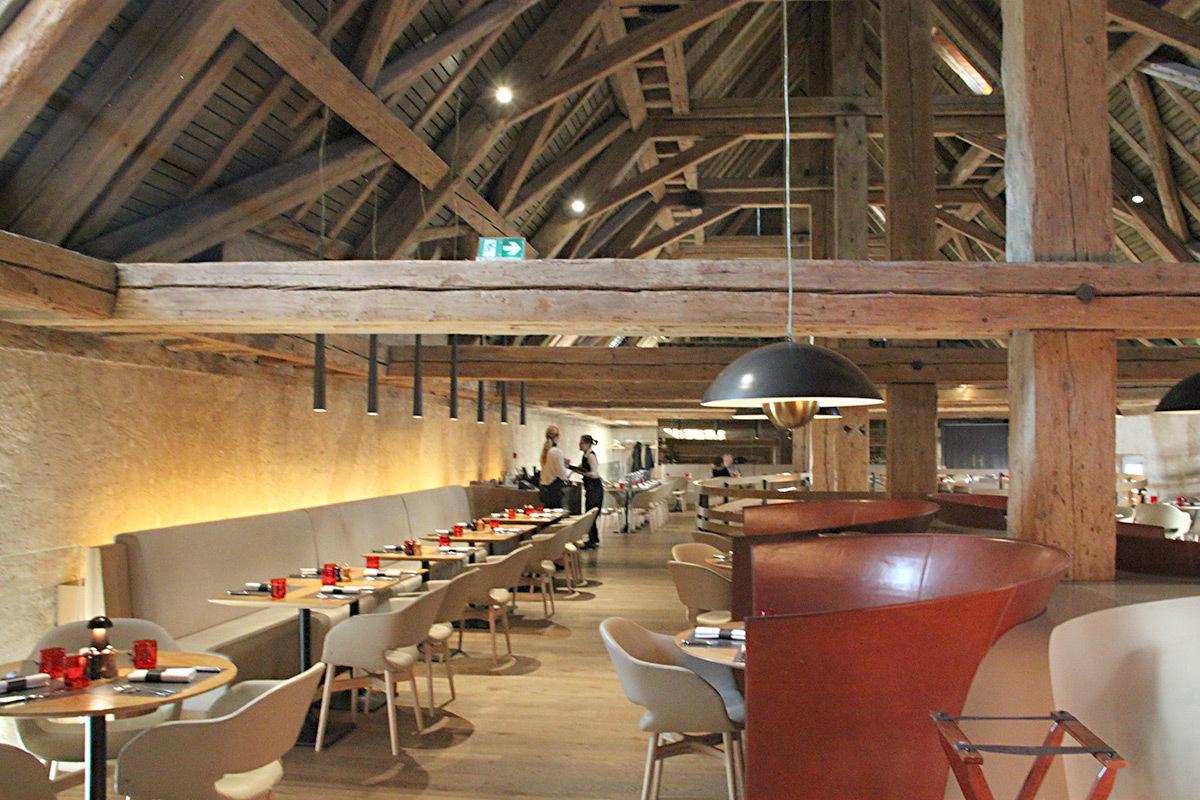 Brasserie Les Haras, Strasbourg - Agence Jouin Manku - L'Observatoire international