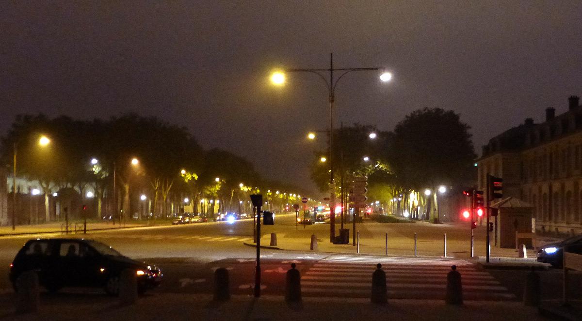 Eclairage extérieur de la ville de Versailles