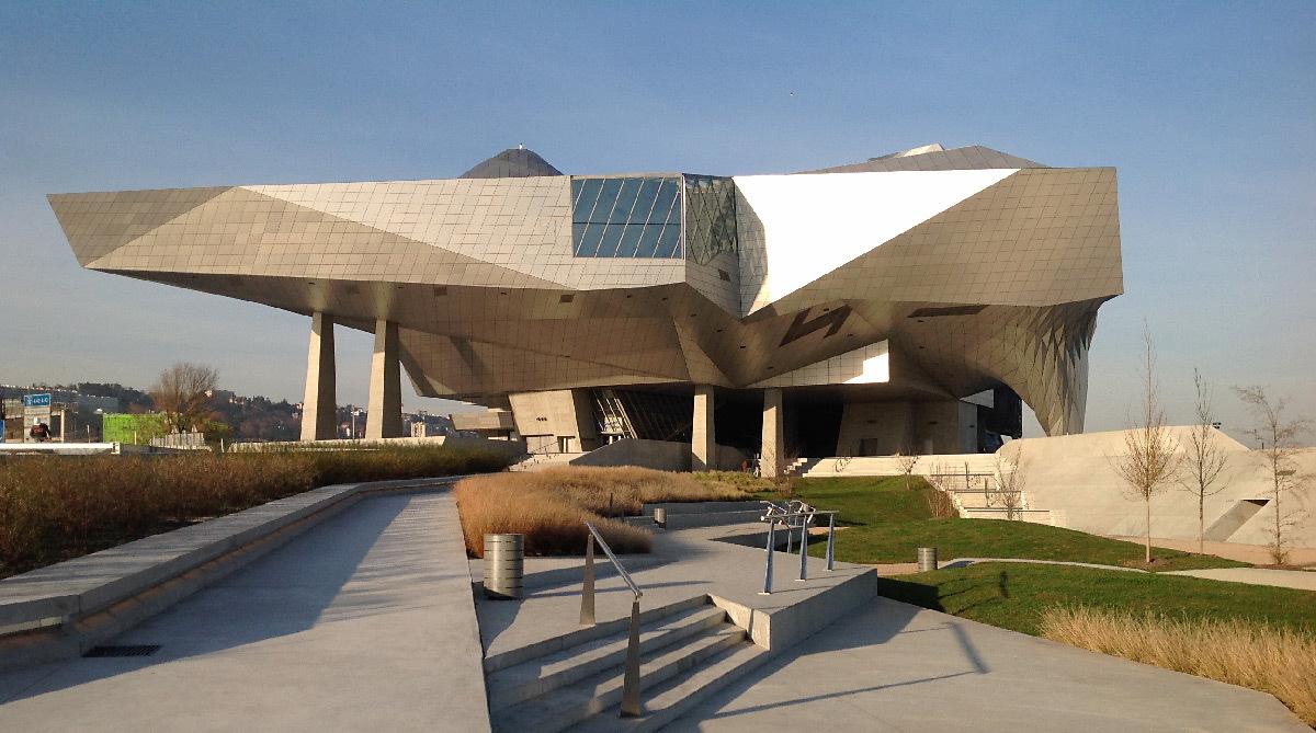 Musée des Confluences, Lyon, France - Architectes : Coop Himmelb(l)au - Photo : Vincent Laganier