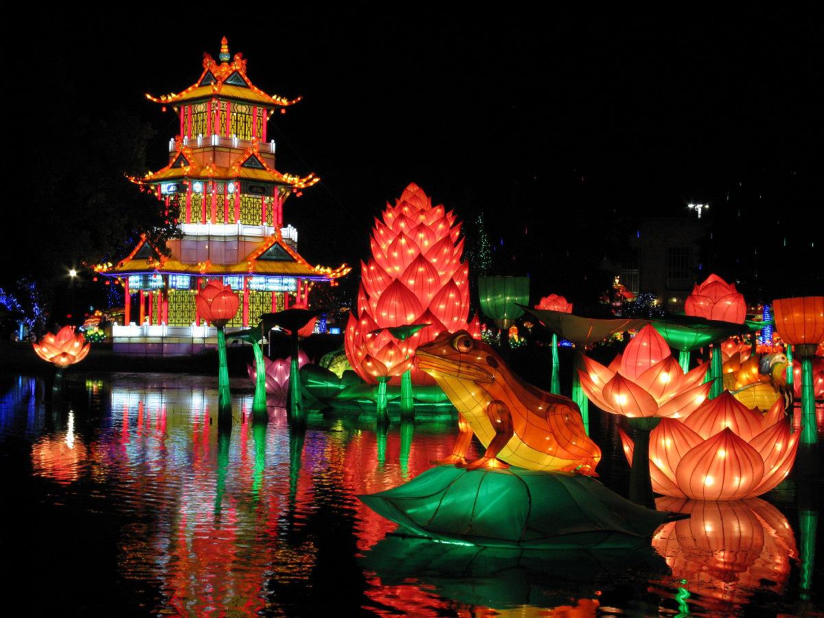Festival des Lanternes, Féeries de Chine, Gaillac, France