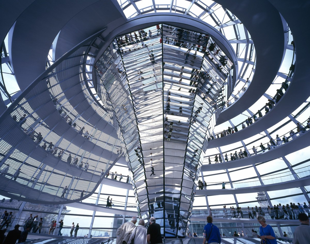 Reichstag de Berlin, architecture de Foster + Partners