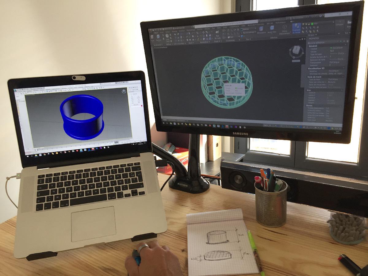 Créer ou télécharger un objet 3D © Alexandre Junca - AJ-lightdesign