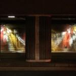 Passage SNCF Felix Faure, Lyon, France - Concepteur lumière : Olivier Peronny, agence ON © Vincent Laganier