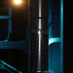 Passage SNCF rue des émeraudes, Lyon, France - Concepteur lumière : Aurélien de Fursac, Latérale © Vincent Laganier