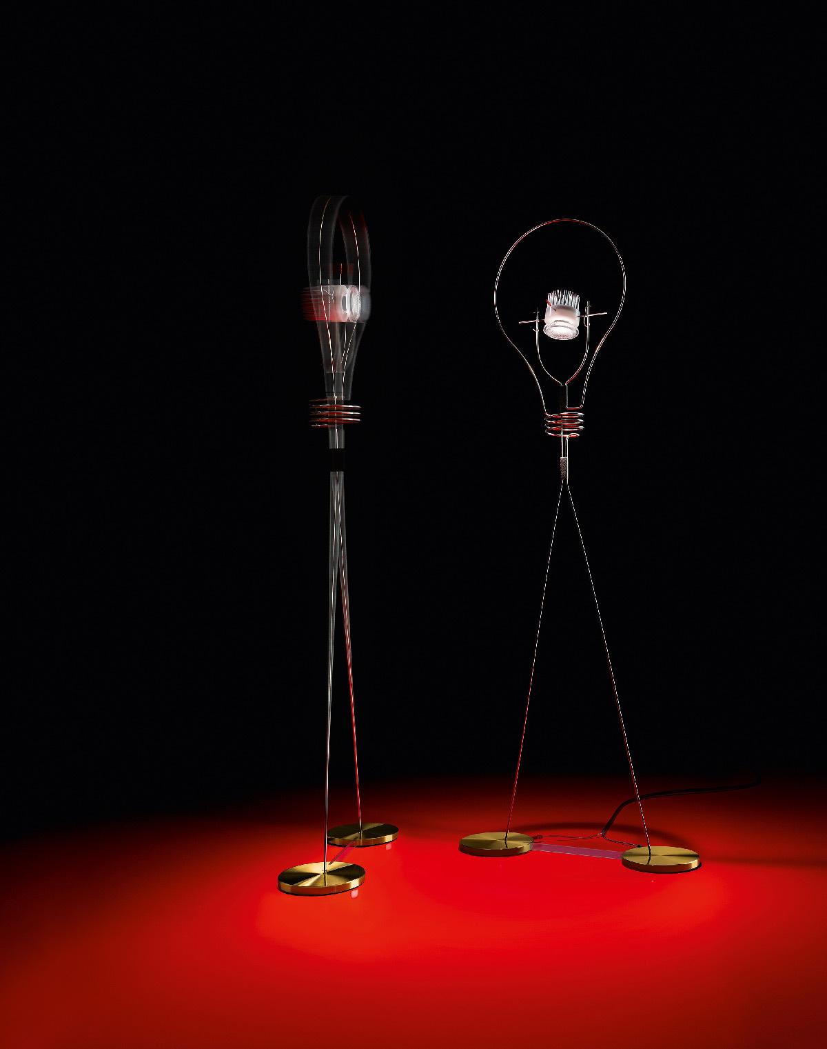Walking Bulb, 2015 - Designer : Michel Sempels © Ingo Maurer GmbH, Munich