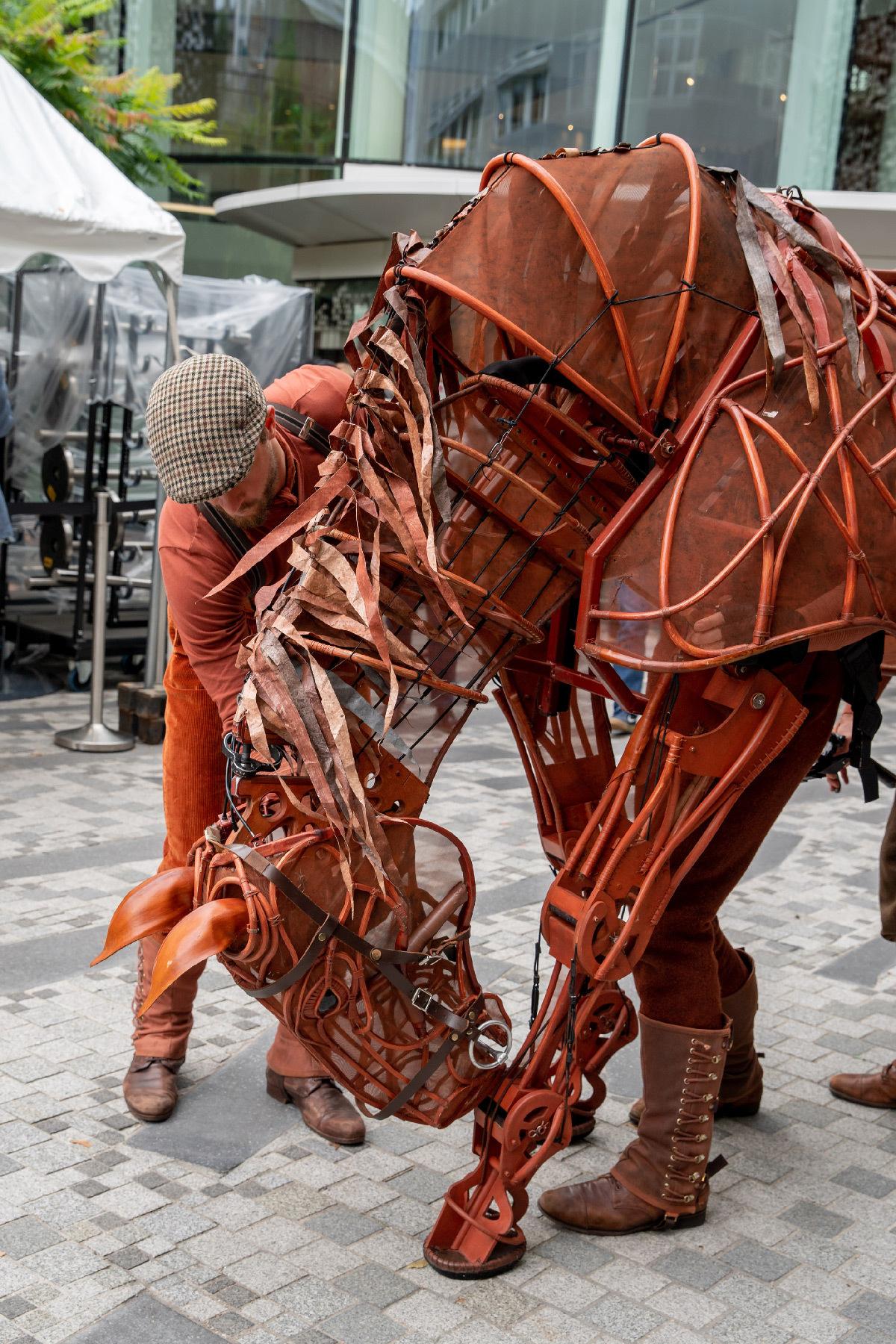 War Horse 2019, cheval Joey - Handspring Puppet Company - Paris © Jessica Rodrigues