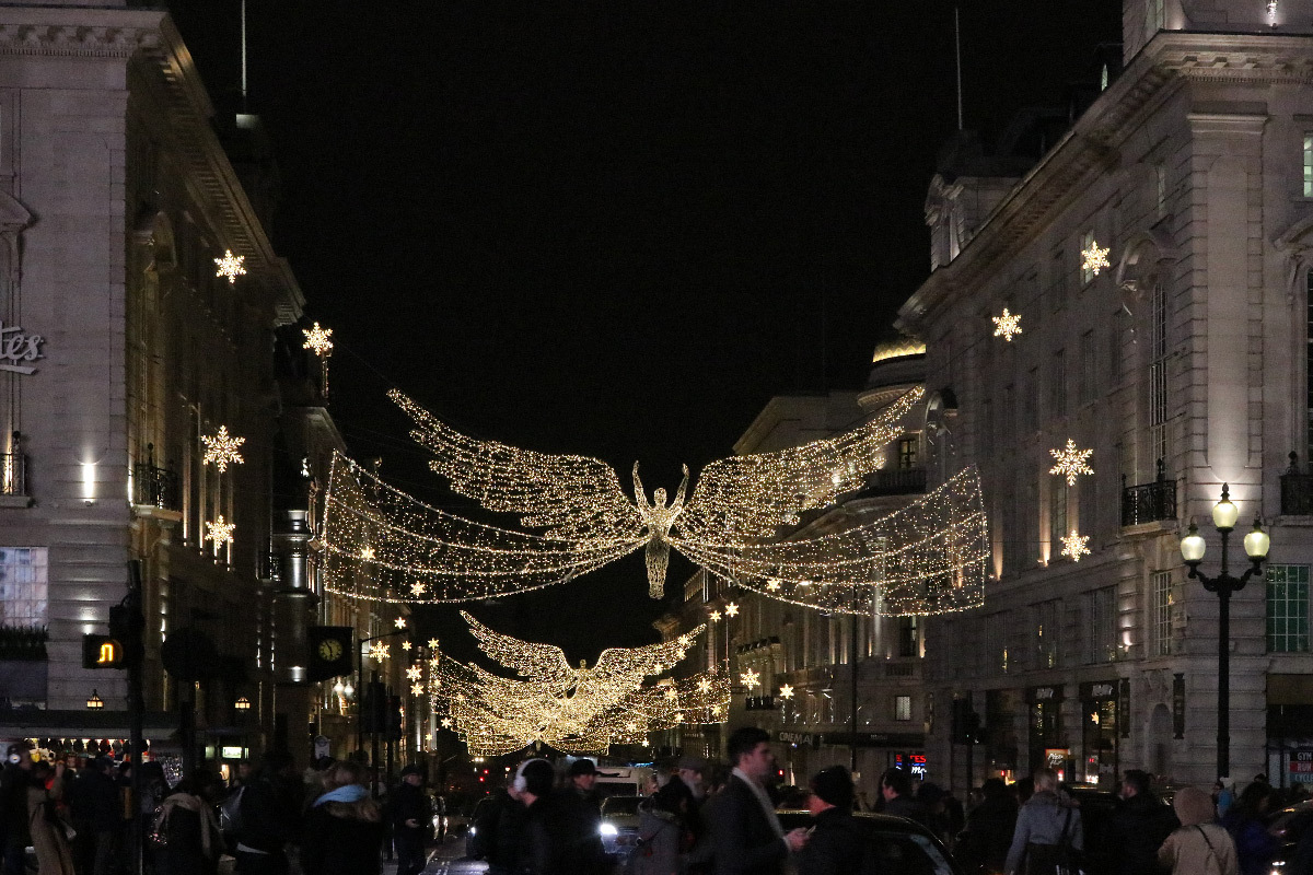 Regent Street, Londres, UK - James Glancy Design - Christmas Lights
