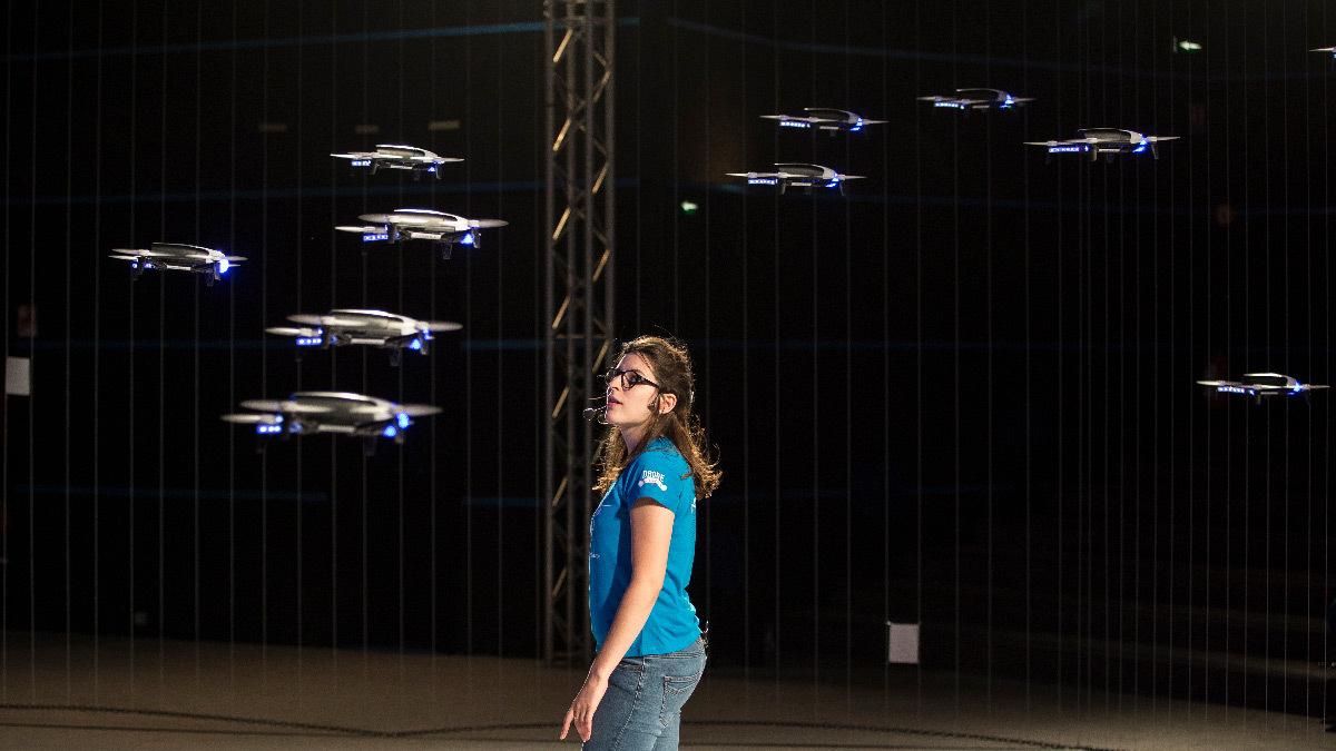 L'Académie des Drones, 2017 – Futuroscope, Poitiers, France – Spectacle de drones lumineux