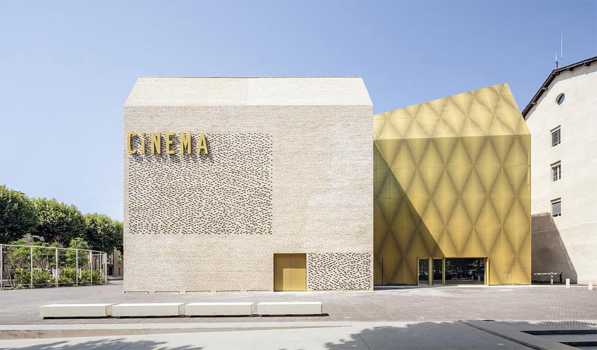 Le grand palais cinéma musée, Cahors, France - Architecte : Antonio Virga