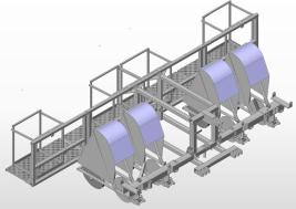 LignoPlanter-Step Konfiguration 2xDoppelreihe