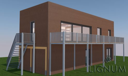 project ECO woning Almere/Oosterwold