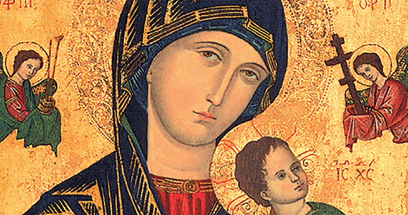 Image result for perpetual help of mary