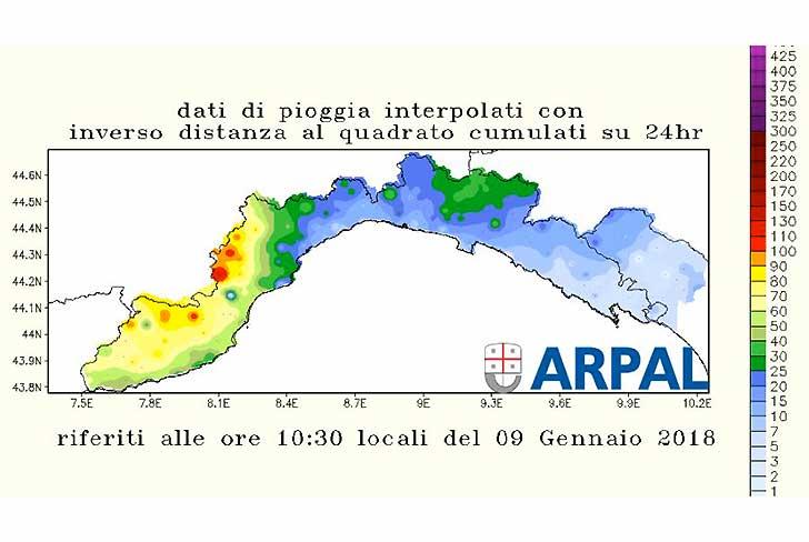 Meteo, ancora precipitazioni: prolungata allerta gialla su zona A