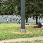 giardini brignole barbone senzatetto