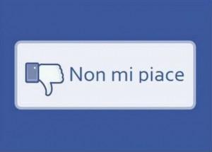 arriva il tasto non mi piace su Facebook