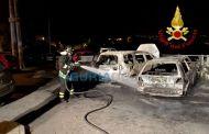 La Spezia - Incendi bruciano auto e scooter nella notte a Pitelli