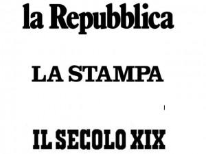 Repubblica, La Stampa e Il Secolo XIX si uniscono