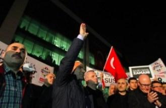 Istanbul, una foto della manifestazione pro-Zaman