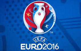 Il logo degli europei del 2016