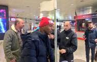 Mike Tyson atterra a Genova - Stasera sale sul ring