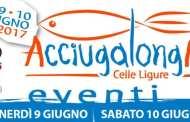 Celle Ligure, parte domani la 5° edizione di Acciugalonga: tutti gli eventi e le info