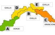 Maltempo in Liguria - Allerta per piogge diffuse sino alle 20