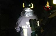 Fiamme in un appartamento di Chiavari, intervento dei Vigili del Fuoco