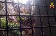 Pegli, collina frana in piazza Zagora: inagibile uno stabile