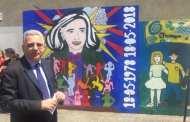 La Spezia, un murales per festeggiare 40 anni della scuola