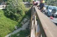Ponte del Lagaccio - Controlli e divieti dopo l'allarme dei residenti