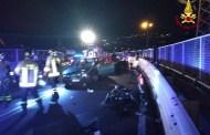 Finale Ligure, auto contro scooter: intervento dei Vigili del Fuoco