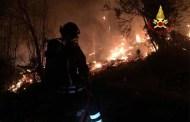 Incendio sulle alture di Voltri, identificato e denunciato il responsabile