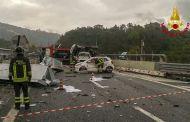 Incidente mortale sull'Autostrada A12 Genova-Livorno tra Sestri Levante e Lavagna, 2 morti